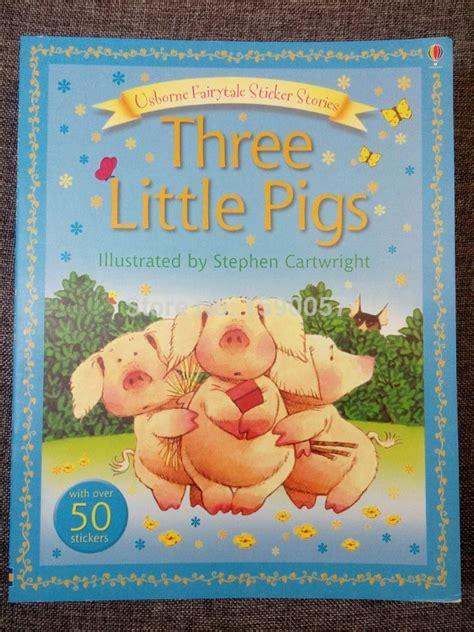 three pigs picture book popular children storybook buy cheap children storybook