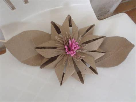 toilet paper origami flower flor de rolo de papel higi 234 nico 2 tubos de cart 243 n