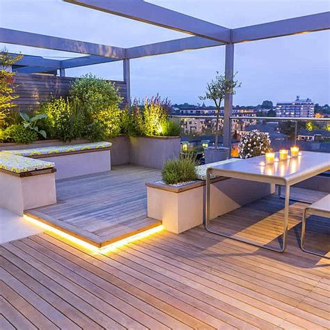 outdoor terrace roof terraces gardens by contemporary designers