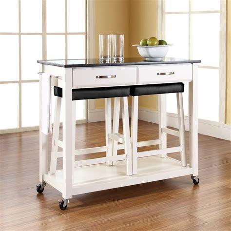 kitchen island cart with stools kitchen cart with stools kenangorgun