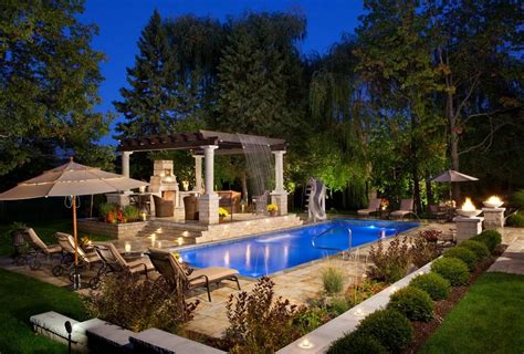 largest backyard pool large yard landscaping ideas landscaping network