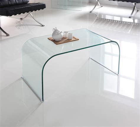 glass table small glass coffee table by glass tables