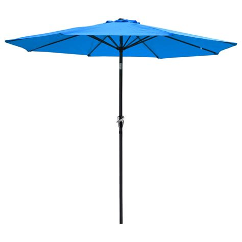 4 ft patio umbrella 9 ft aluminum outdoor patio umbrella market yard w