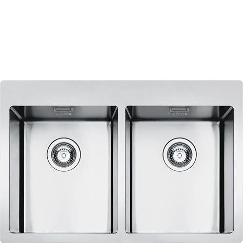 smeg lpd861d kitchen sink 1 bowl piano design sinks lft3434rs smeg