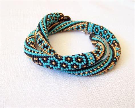 beaded crochet designs bead crochet rope bracelet ideas trendyoutlook