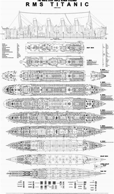 titanic floor plan hahn s titanic plans