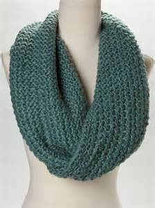 knitting an infinity scarf teal knit infinity scarf scarves