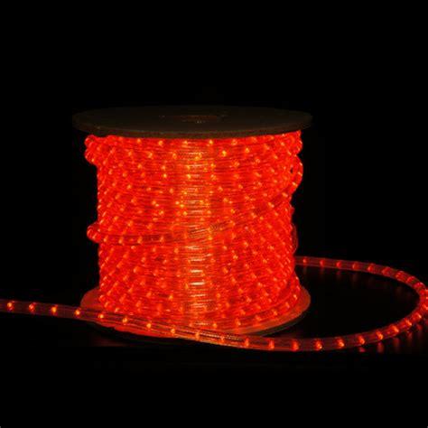 orange led rope lights 3 8 inch orange led rope light