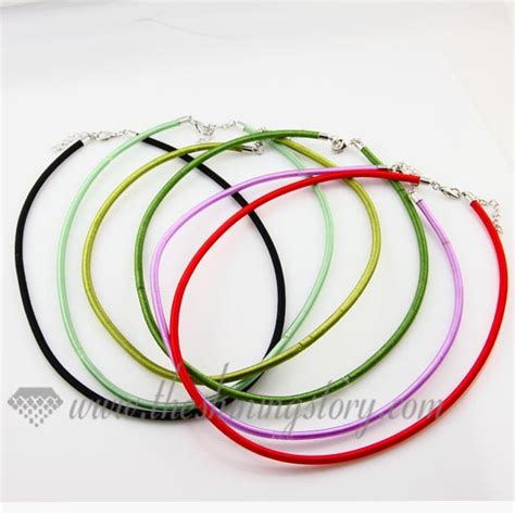 cord for jewelry silk wrapped necklaces cord for pendants jewelry wholesale