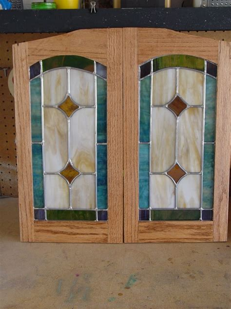 stained glass for kitchen cabinets made cabinet door stained glass panels by chapman