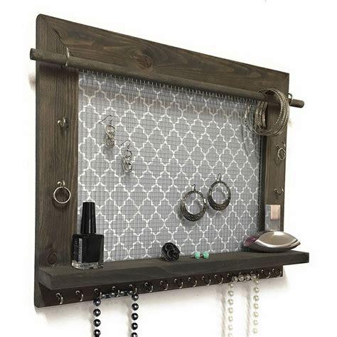 jewelry organizer 17 best ideas about hanging jewelry organizer on