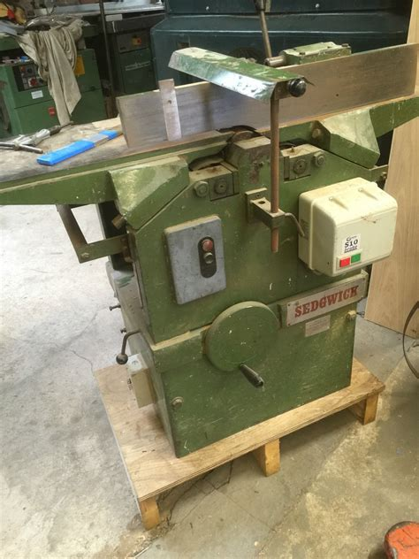 used woodworking machinery uk sedgwick 12 x 9 planer thicknesser w s woodmachinery