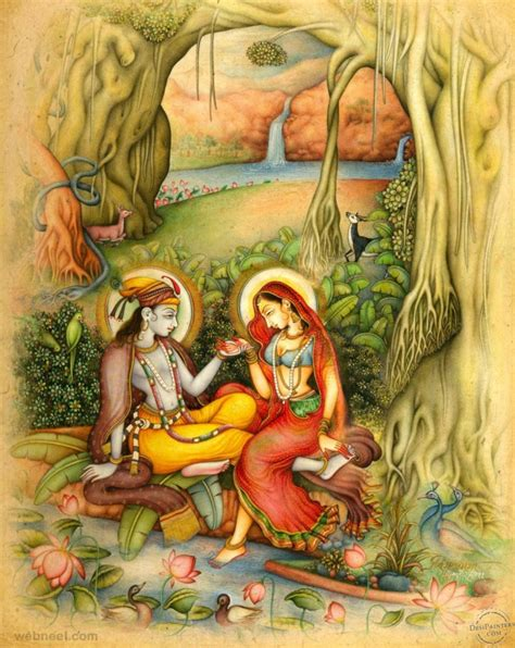 indian painting images 50 most beautiful indian paintings from top artists for