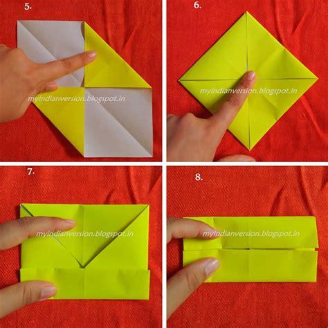 diy origami box my indian version diy paper box tutorial