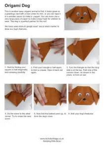 how to make origami dogs origami