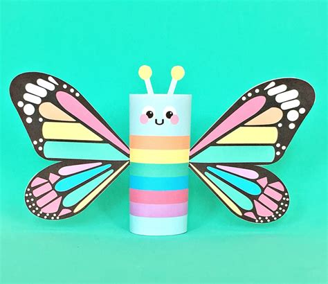 paper butterfly craft hello wonderful rainbow butterfly paper craft with