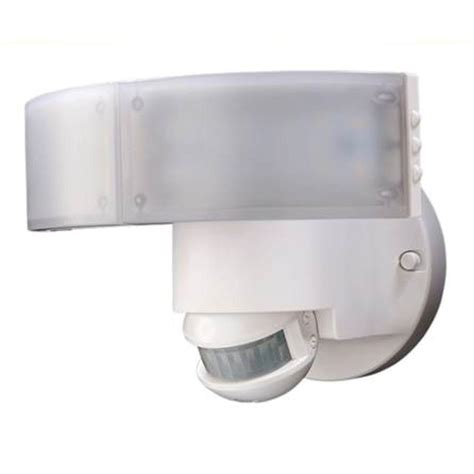 outdoor led security lights defiant 180 degree white led motion outdoor security light