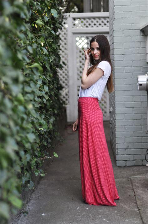 diy knit skirt diy sewing project stylish maxi skirt sewing