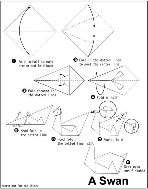 simple origami swan 25 best ideas about origami swan on simple