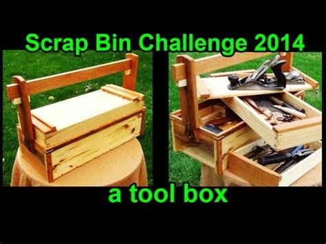 traditional japanese woodworking a toolbox scrap bin challenge 2014 cued from a