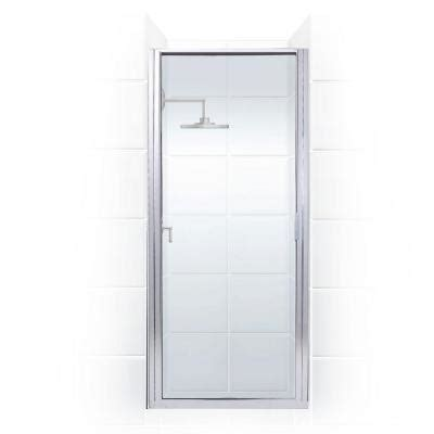 shower doors home depot coastal shower doors paragon series 26 in x 74 in framed