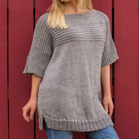 knitting patterns for larger tunic knitting patterns knitting bee 13 free knitting