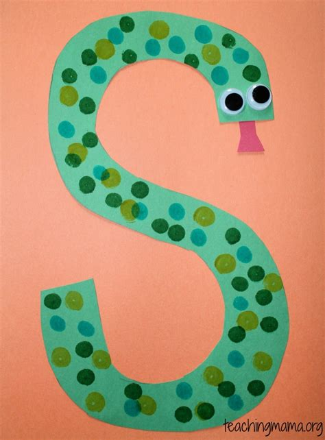 south crafts for 5 activities for the letter s teaching