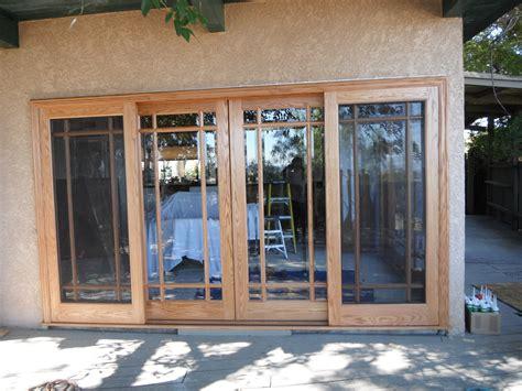 wooden sliding doors exterior wide span doors expand your view remodeling outdoor rooms