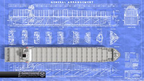 Home Plans With A View 169 3 dimensional container ship savannah express