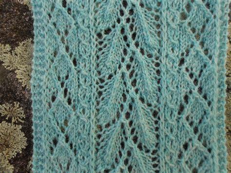 leaf knitting pattern scarf merry melody designs mint leaf lace scarf