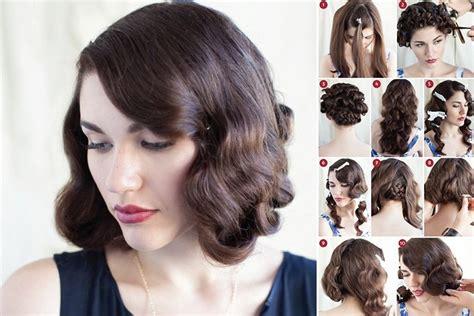 step by step vintage hairstyles step by step retro hairstyles guide to that vintage hair