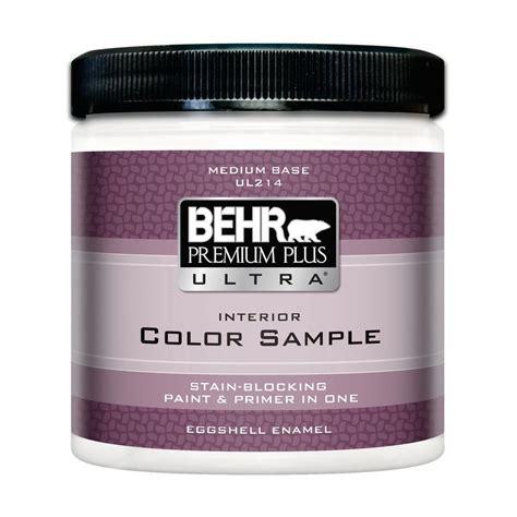behr paint colors interior with primer behr premium plus ultra ul 8 oz medium eggshell interior