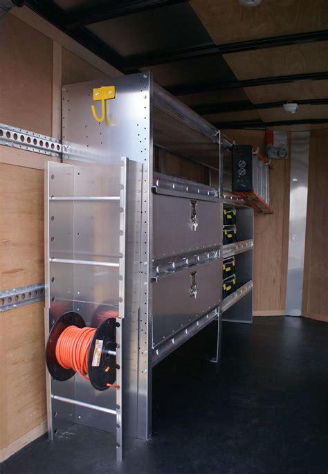 enclosed trailer shelves enclosed trailer shelving storage ranger design