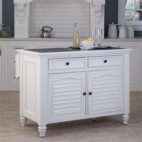 kitchen island home depot home styles bermuda kitchen island with white finish 5543