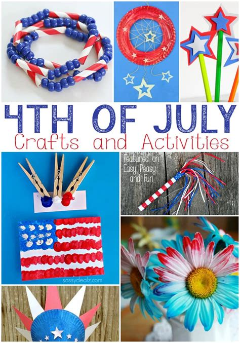 easy 4th of july crafts for 4th of july crafts for easy peasy and
