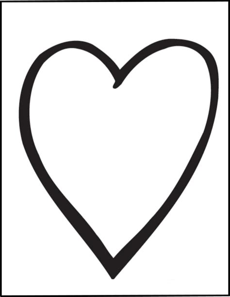 simple heart drawings cliparts co