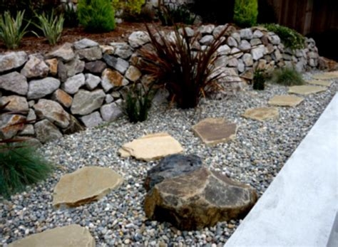 landscaping rocks and stones great landscaping designs with rocks and gravelsand green