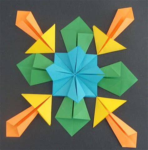 math origami projects 1000 ideas about symmetry activities on
