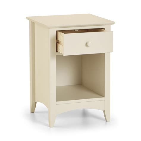 cameo bedroom furniture cameo 1 drawer bedside chest