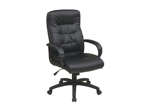 executive office chair leather black leather executive chair