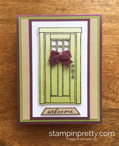 ideas for cards at home a welcoming new home card using at home with you