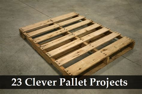 pallet craft projects 23 clever pallet projects