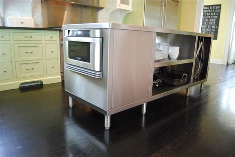 kitchen islands stainless steel crafted stainless steel kitchen islands by custom