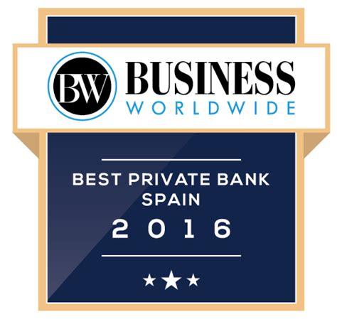 mejor banco de espa a andbank mejor banco privado de espa 241 a para la revista