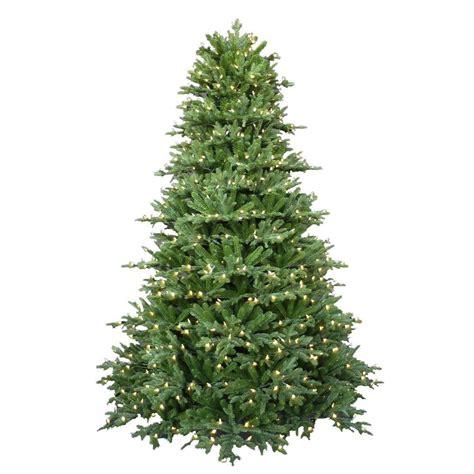 frasier fir artificial tree 7 5 ft pre lit led royal fraser fir artificial