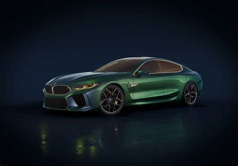 M8 Gran Coupe by Official Bmw M8 Gran Coupe Concept Gtspirit