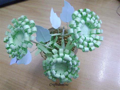 craft with paper paper crafts paper chrysanthemums craft ideas