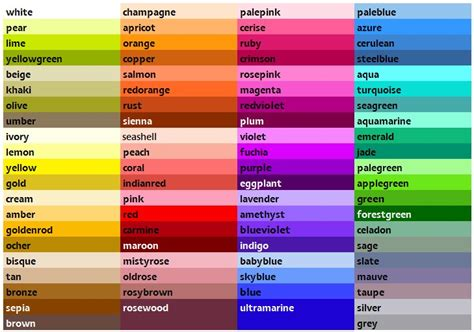 list of green colors great color list with rgb info craft ideas