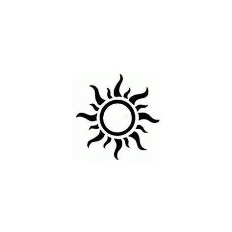 happy sun tattoo clipart best