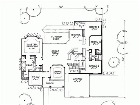 one story house plans with 4 bedrooms 4 bedroom country house plans smalltowndjs